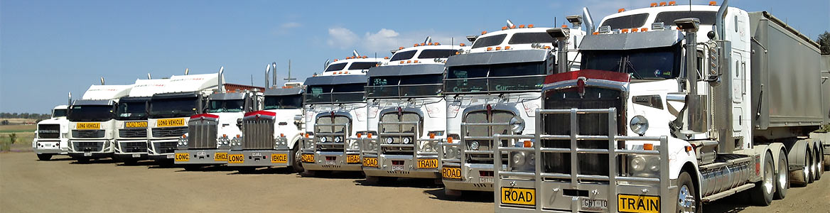 Grainhart's road transport vehicles